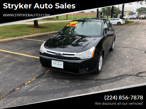 2010 Ford Focus for sale at Stryker Auto Sales in South Elgin IL