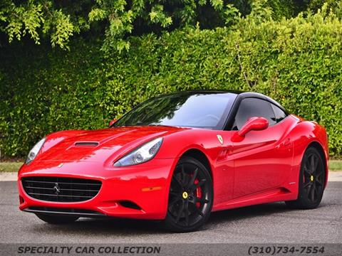 2010 Ferrari California for sale in West Hollywood, CA