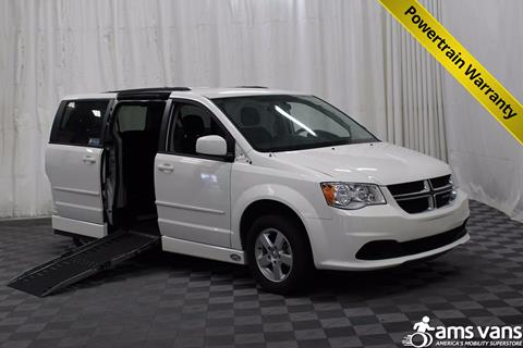 2012 Dodge Grand Caravan for sale at AMS Vans, Inc. in Tucker GA