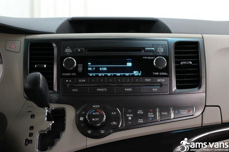 2014 Toyota Sienna for sale at AMS Vans, Inc. in Tucker GA