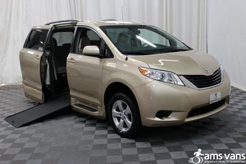 2014 Toyota Sienna for sale at AMS Vans, Inc. in Tucker GA