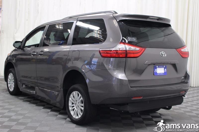 2017 Toyota Sienna for sale at AMS Vans, Inc. in Tucker GA