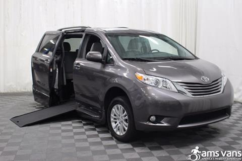 2017 Toyota Sienna for sale at AMS Vans, Inc. in Tucker GA
