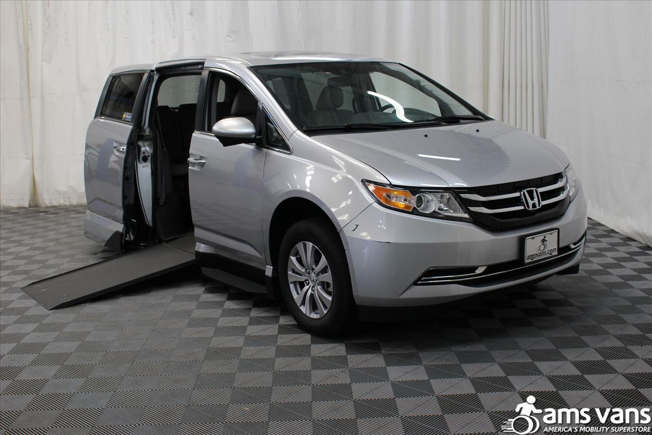 2015 Honda Odyssey for sale at AMS Vans, Inc. in Tucker GA