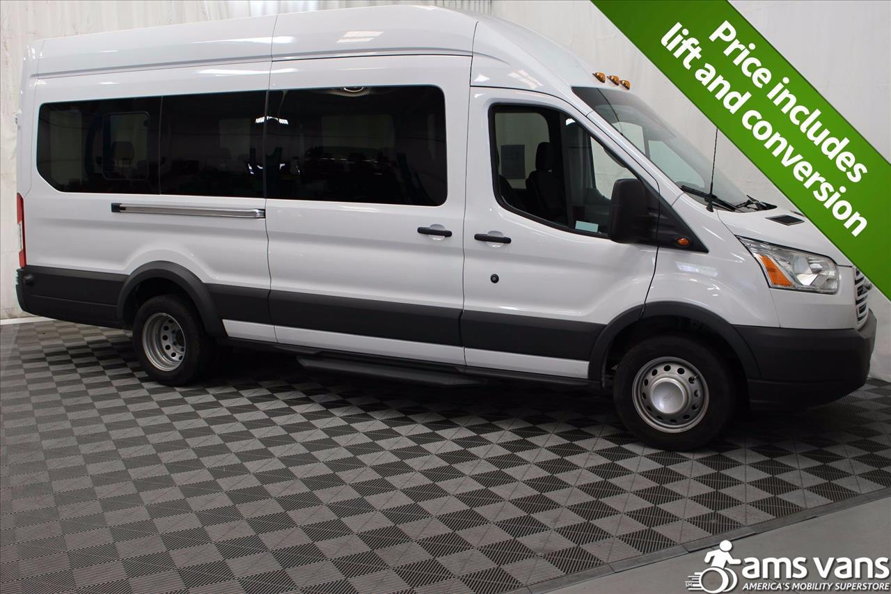 2017 Ford Transit Wagon for sale at AMS Vans, Inc. in Tucker GA