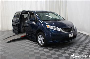 2012 Toyota Sienna for sale at AMS Vans, Inc. in Tucker GA