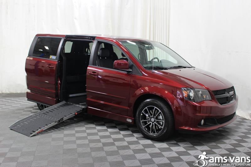 2017 Dodge Grand Caravan for sale at AMS Vans, Inc. in Tucker GA