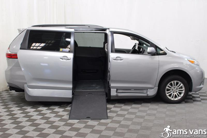 2016 Toyota Sienna for sale at AMS Vans, Inc. in Tucker GA