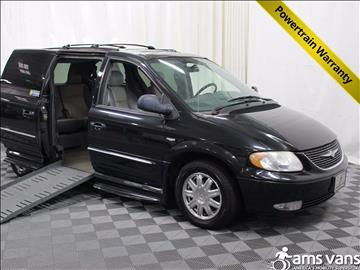 2004 Chrysler Town and Country for sale at AMS Vans, Inc. in Tucker GA