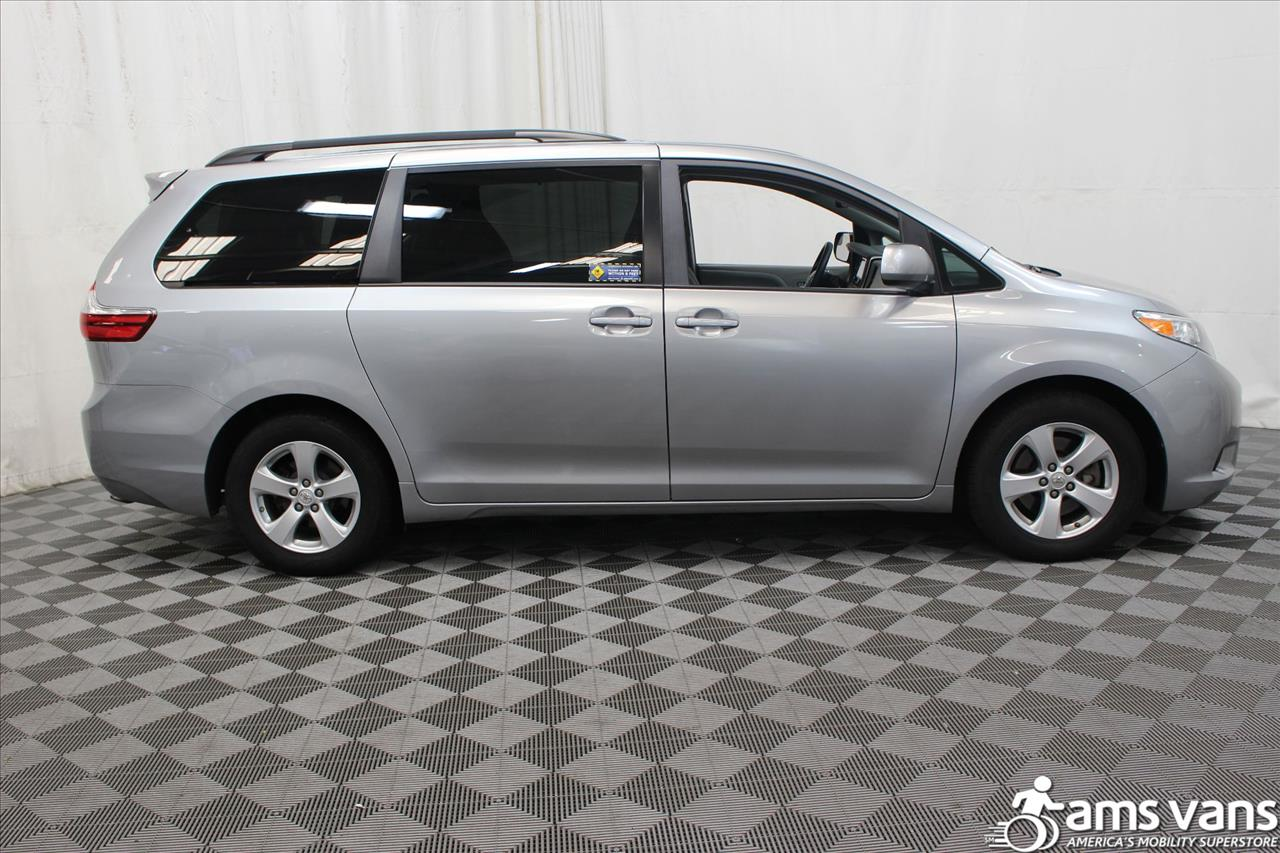 2015 Toyota Sienna for sale at AMS Vans, Inc. in Tucker GA