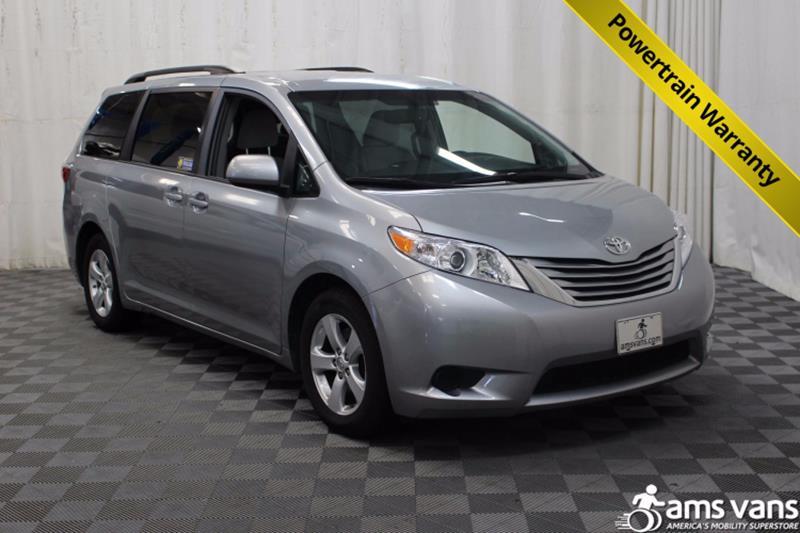 2015 Toyota Sienna for sale at AMS Vans, Inc. in Tucker GA