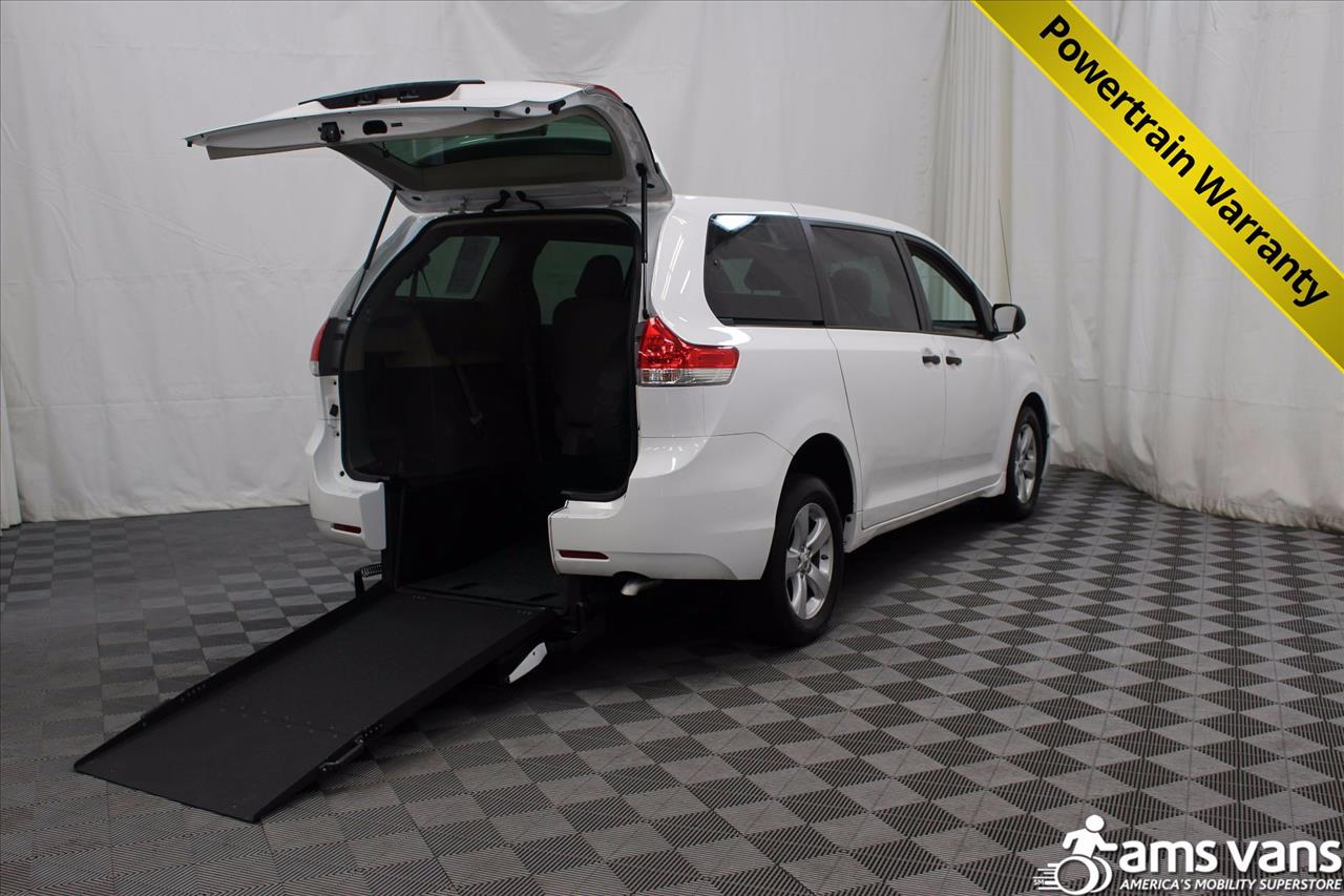 2013 Toyota Sienna for sale at AMS Vans, Inc. in Tucker GA