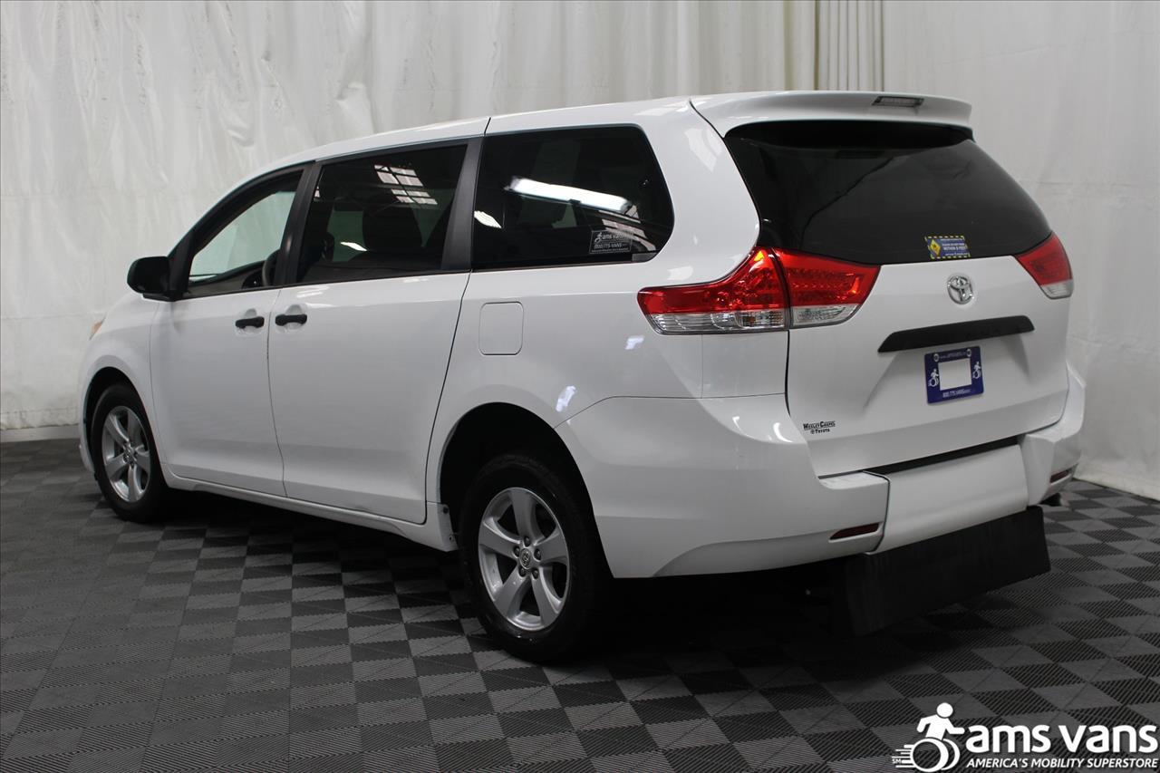 2013 Toyota Sienna for sale at AMS Vans, Inc. in Tucker GA