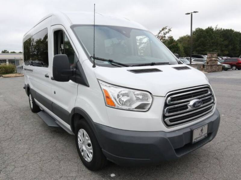2017 Ford Transit Passenger for sale at AMS Vans in Tucker GA