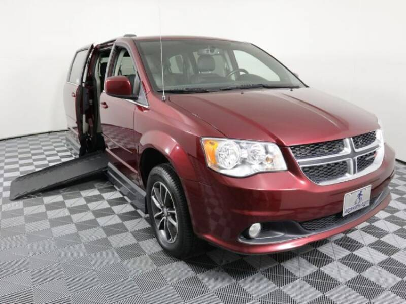 2017 Dodge Grand Caravan for sale at AMS Vans in Tucker GA