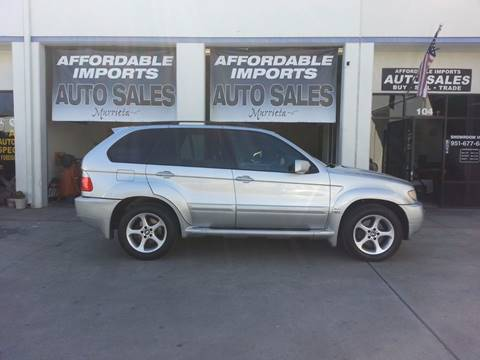 2001 BMW X5 for sale in Murrieta, CA