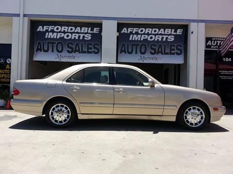 2000 Mercedes-Benz E-Class for sale in Murrieta, CA