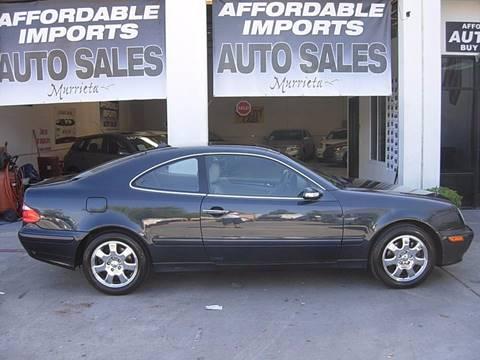 2001 Mercedes-Benz CLK for sale in Murrieta, CA