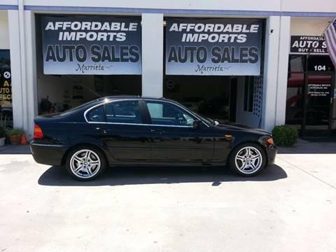 2002 BMW 3 Series for sale in Murrieta, CA