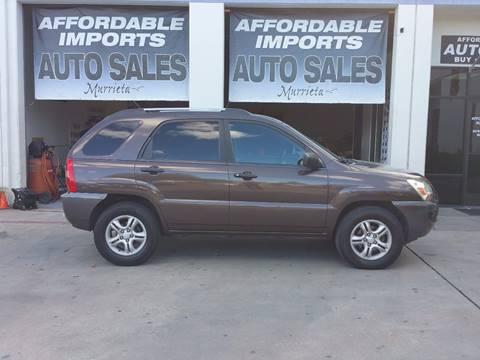 2006 Kia Sportage for sale in Murrieta, CA