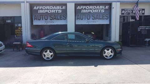 2002 Mercedes-Benz CL-Class for sale in Murrieta, CA
