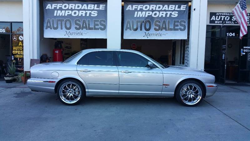 2004 Jaguar XJR For Sale At Affordable Imports Auto Sales In Murrieta CA