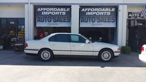 1998 BMW 7 Series for sale in Murrieta, CA