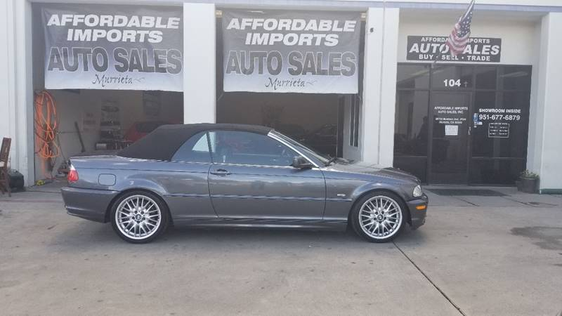BMW Series Ci Convertible RWD For Sale CarGurus - 2002 bmw 330 convertible