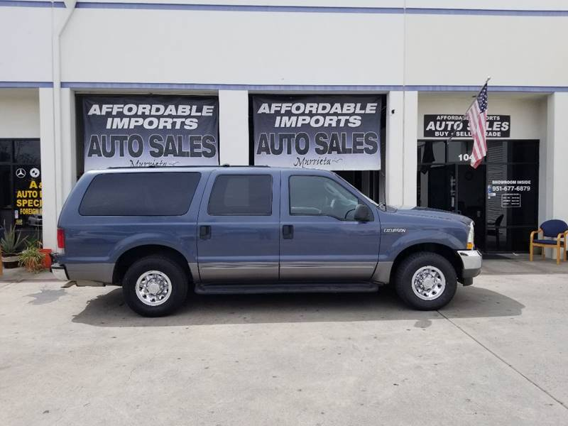 Ford Excursion For Sale At Affordable Imports Auto Sales In Murrieta Ca