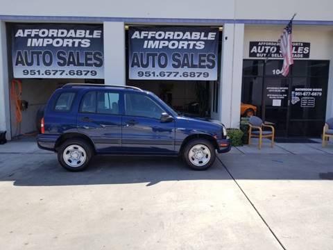 2002 Suzuki Vitara for sale in Murrieta, CA