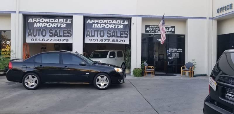 2006 Chevrolet Malibu Ss In Murrieta Ca Affordable Imports Auto Sales