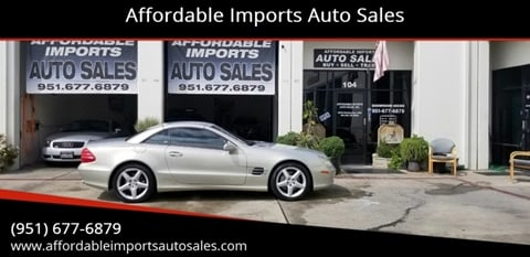 2003 Mercedes-Benz SL-Class for sale at Affordable Imports Auto Sales in Murrieta CA