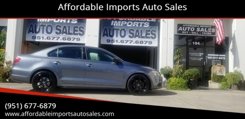 2012 Volkswagen Jetta for sale at Affordable Imports Auto Sales in Murrieta CA