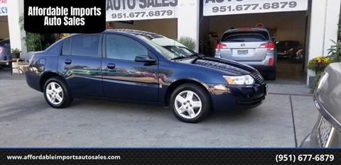 2007 Saturn Ion for sale in Murrieta, CA