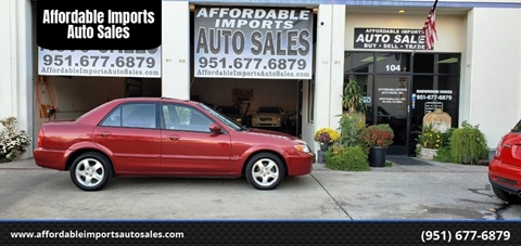2002 Mazda Protege for sale at Affordable Imports Auto Sales in Murrieta CA