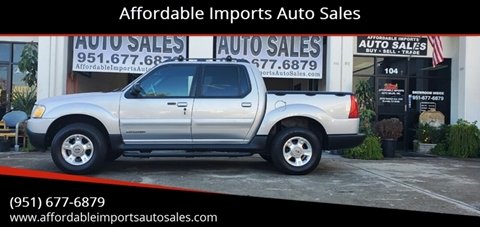 2001 Ford Explorer Sport Trac for sale in Murrieta, CA