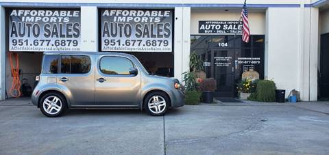 2009 Nissan cube for sale at Affordable Imports Auto Sales in Murrieta CA