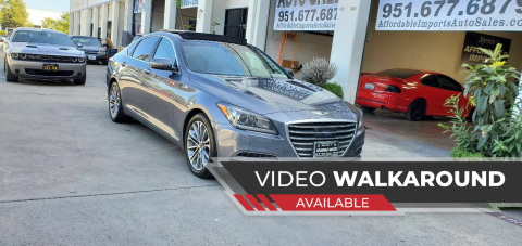 2015 Hyundai Genesis for sale at Affordable Imports Auto Sales in Murrieta CA
