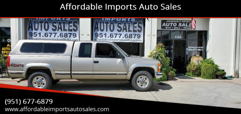 1998 Chevrolet C/K 2500 Series for sale at Affordable Imports Auto Sales in Murrieta CA