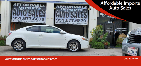 2008 Scion tC for sale at Affordable Imports Auto Sales in Murrieta CA