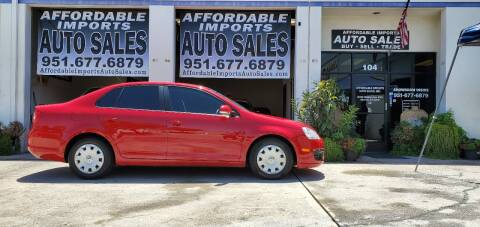 2007 Volkswagen Jetta for sale at Affordable Imports Auto Sales in Murrieta CA