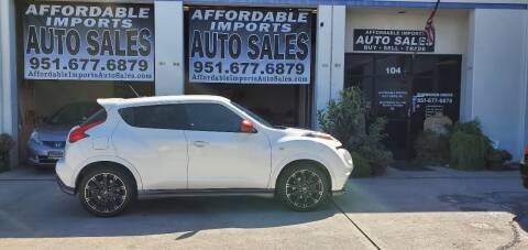 2013 Nissan JUKE for sale at Affordable Imports Auto Sales in Murrieta CA