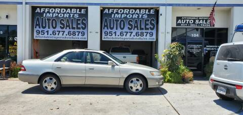 2001 Lexus ES 300 for sale at Affordable Imports Auto Sales in Murrieta CA