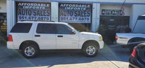 2004 Ford Explorer for sale at Affordable Imports Auto Sales in Murrieta CA