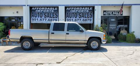 2000 Chevrolet C/K 3500 Series for sale at Affordable Imports Auto Sales in Murrieta CA