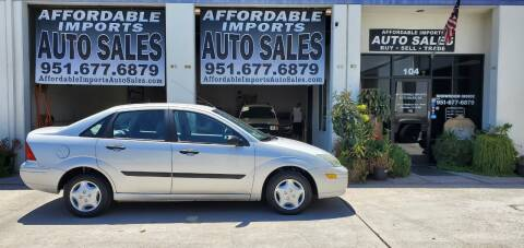 2004 Ford Focus for sale at Affordable Imports Auto Sales in Murrieta CA