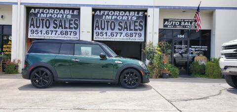 2011 MINI Cooper Clubman for sale at Affordable Imports Auto Sales in Murrieta CA