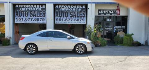 2011 Honda Civic for sale at Affordable Imports Auto Sales in Murrieta CA