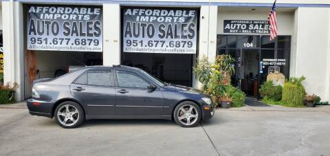 2002 Lexus IS 300 for sale at Affordable Imports Auto Sales in Murrieta CA
