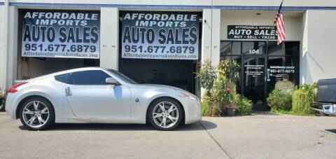 2009 Nissan 370Z for sale at Affordable Imports Auto Sales in Murrieta CA